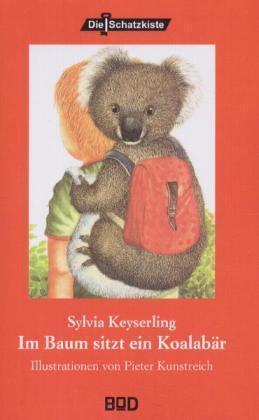 Im Baum sitzt ein Koalabär als Buch