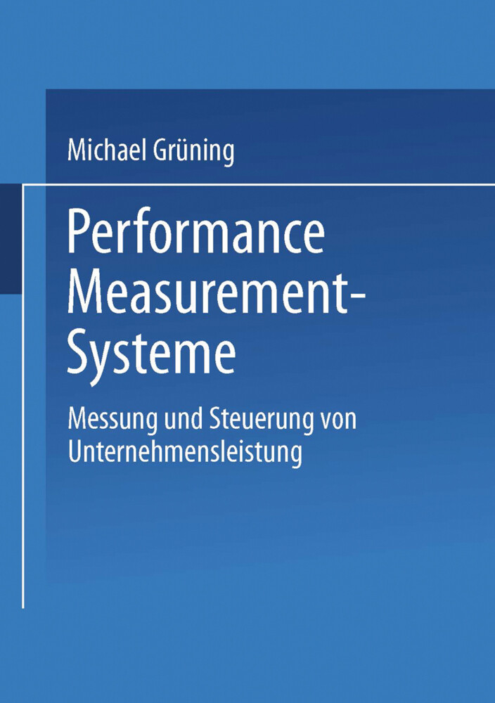 Performance-Measurement-Systeme als Buch