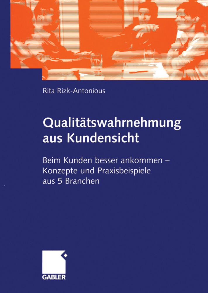 Qualitätswahrnehmung aus Kundensicht als Buch