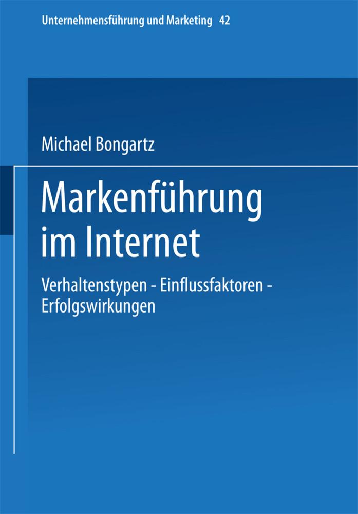 Markenführung im Internet als Buch