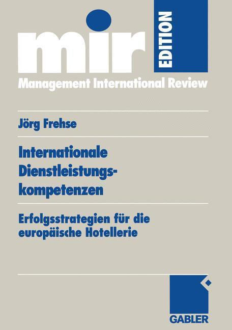 Internationale Dienstleistungskompetenzen als Buch