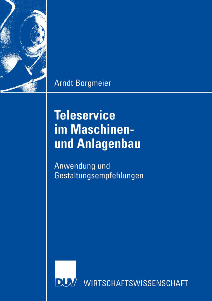 Teleservice im Maschinen- und Anlagenbau als Buch