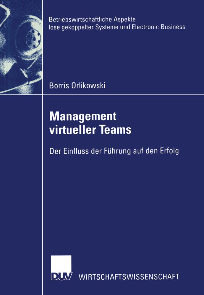 Management virtueller Teams als Buch