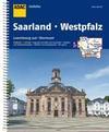 ADAC Stadtatlas Saarland mit Idar-Oberstein, Kaiserslautern, Luxembourg 1: 20 000