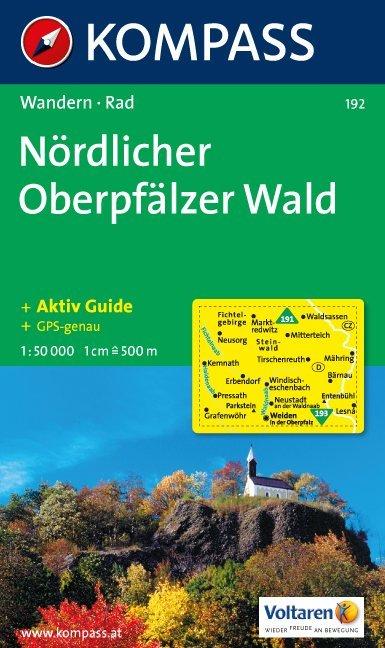 Nördlicher Oberpfälzer Wald 1 : 50 000 als Buch