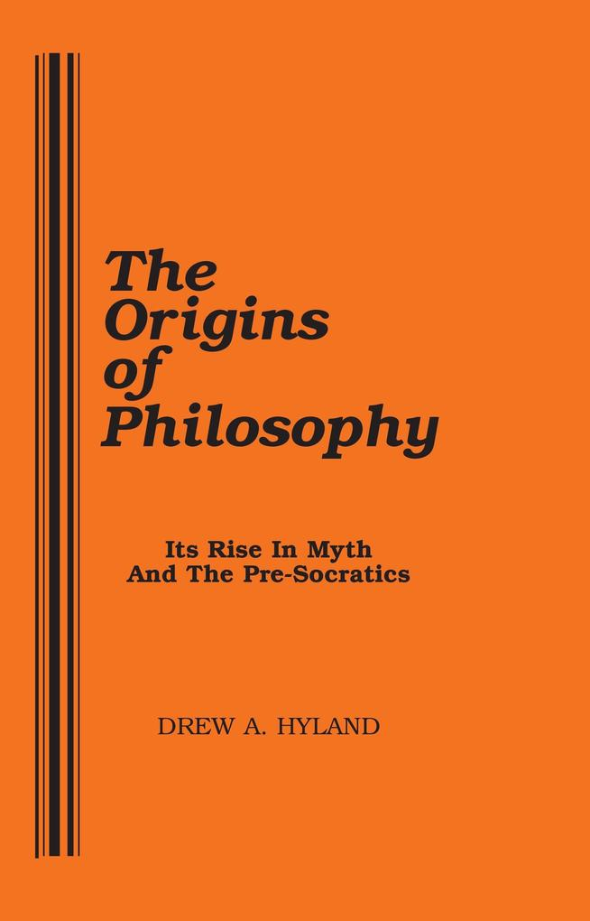 The Origins of Philosophy als Taschenbuch