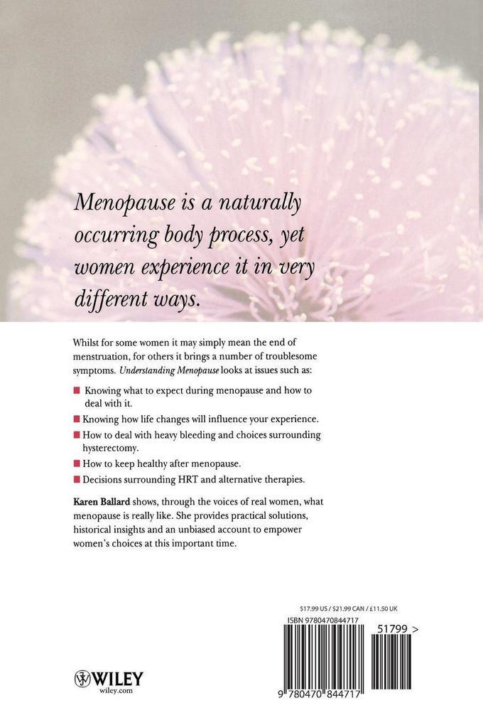 Understanding Menopause als Buch