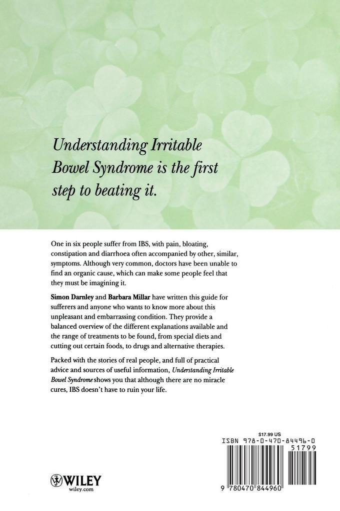 Understanding Irritable Bowel Syndrome als Buch