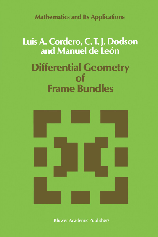 Differential Geometry of Frame Bundles als Buch
