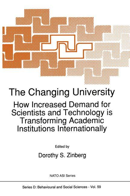 The Changing University als Buch