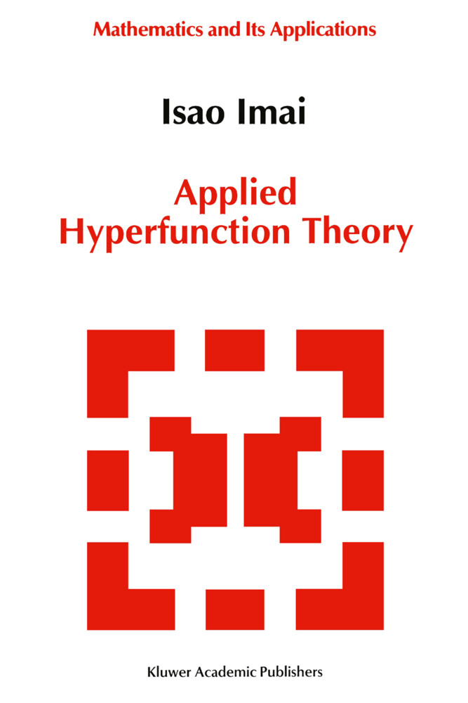 Applied Hyperfunction Theory als Buch