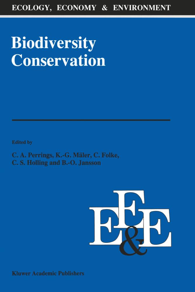 Biodiversity Conservation als Buch