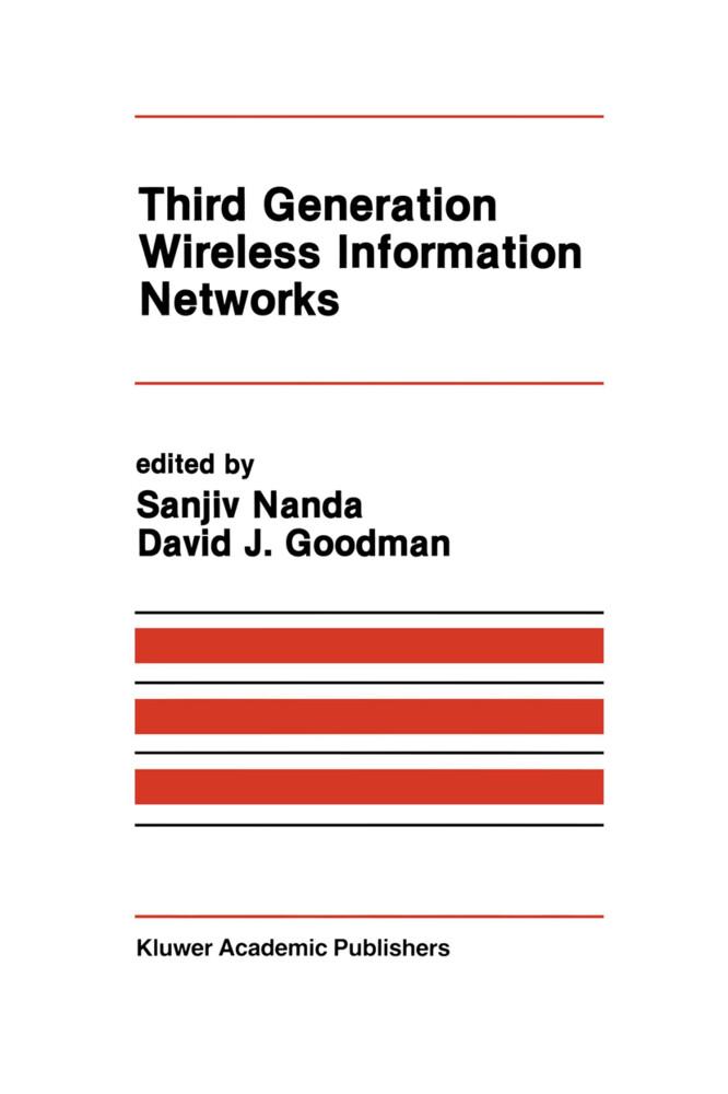 Third Generation Wireless Information Networks als Buch