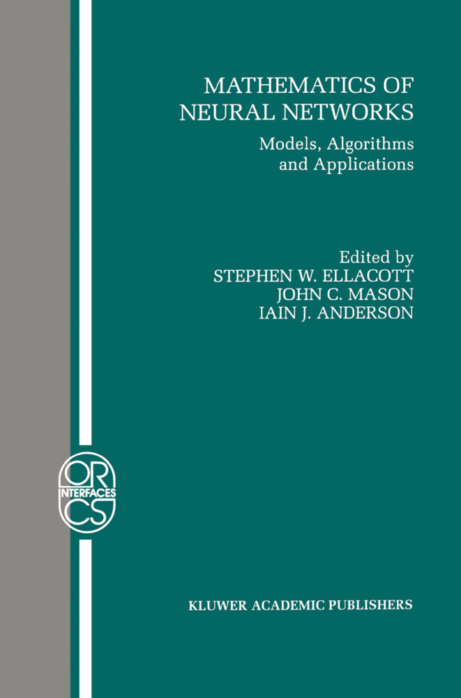 Mathematics of Neural Networks: Models, Algorithms and Applications als Buch