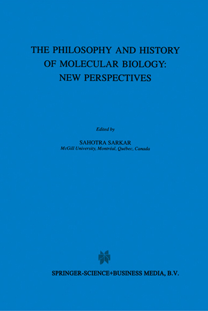 The Biology and History of Molecular Biology: New Perspectives als Buch