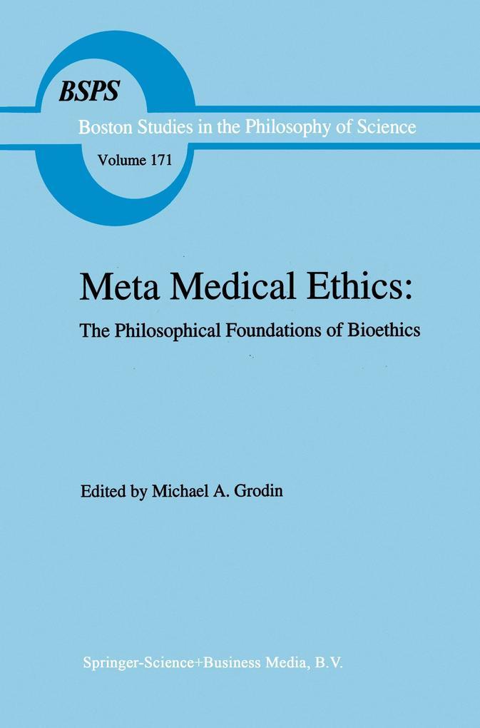 Meta Medical Ethics als Buch