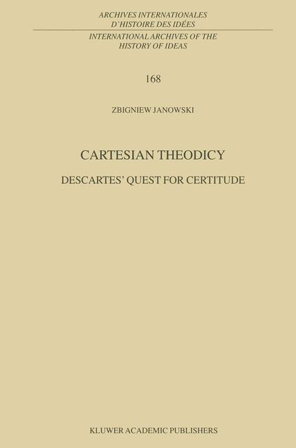 Cartesian Theodicy als Buch