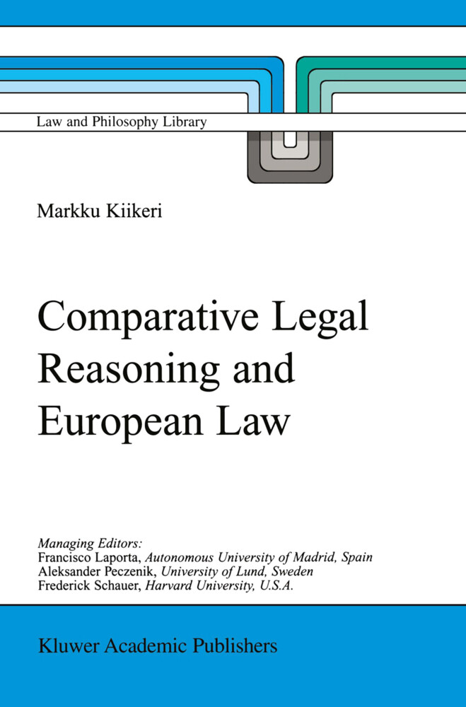 Comparative Legal Reasoning and European Law als Buch