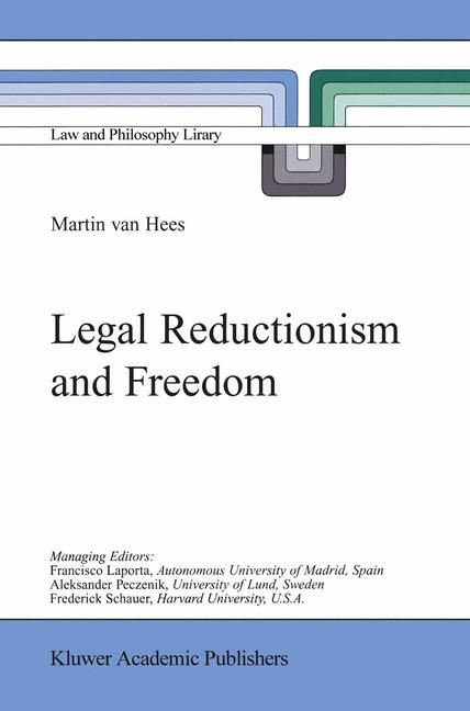 Legal Reductionism and Freedom als Buch