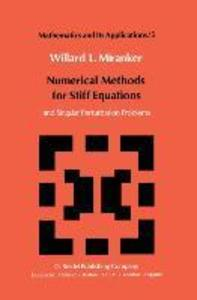 Numerical Methods for Stiff Equations and Singular Perturbation Problems als Buch