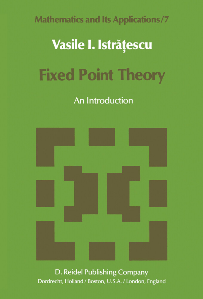 Fixed Point Theory als Buch