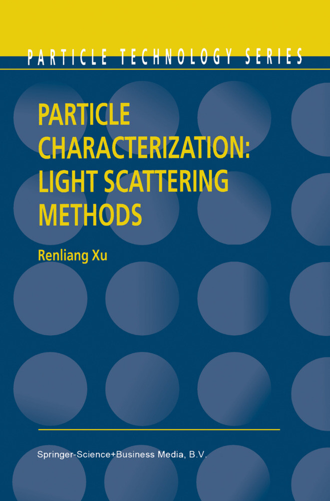 Particle Characterization: Light Scattering Methods als Buch