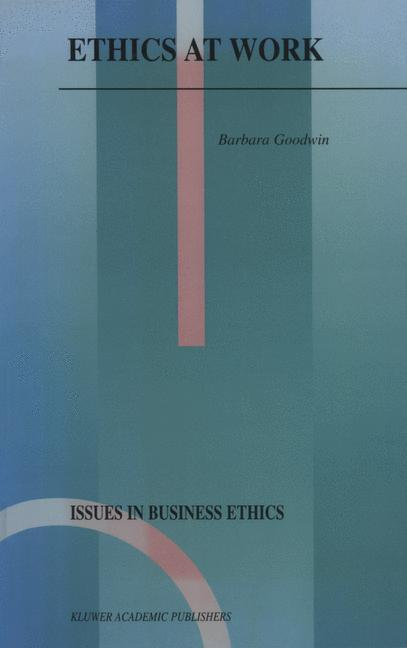 Ethics at Work als Buch