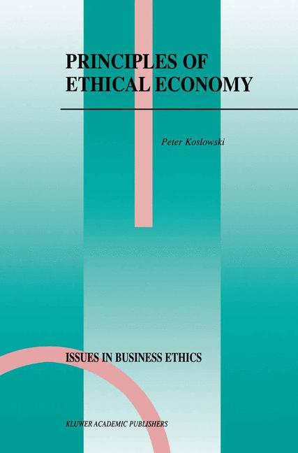 Principles of Ethical Economy als Buch