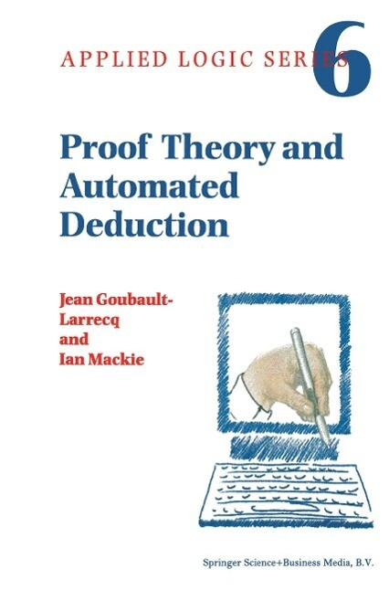 Proof Theory and Automated Deduction als Buch