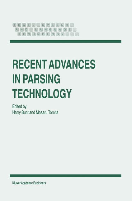 Recent Advances in Parsing Technology als Buch