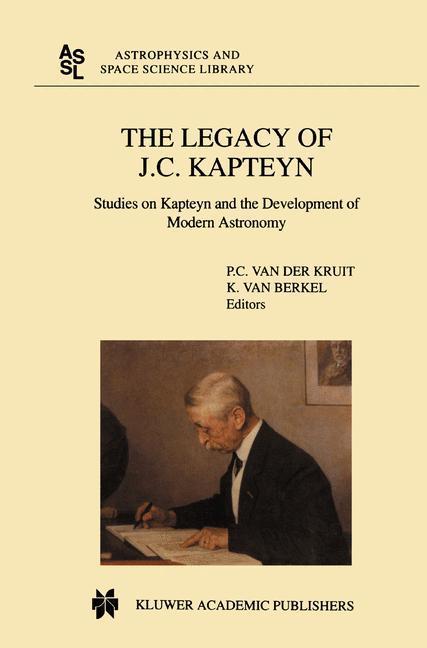 The Legacy of J.C. Kapteyn als Buch