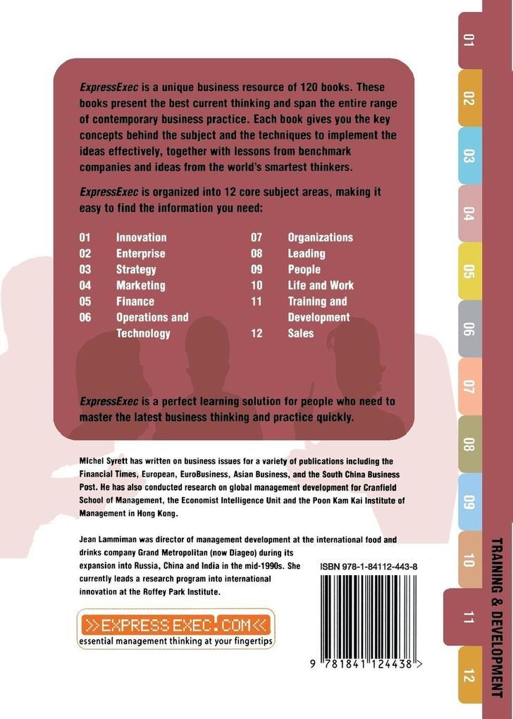 Global Training and Development: Training and Development 11.2 als Buch