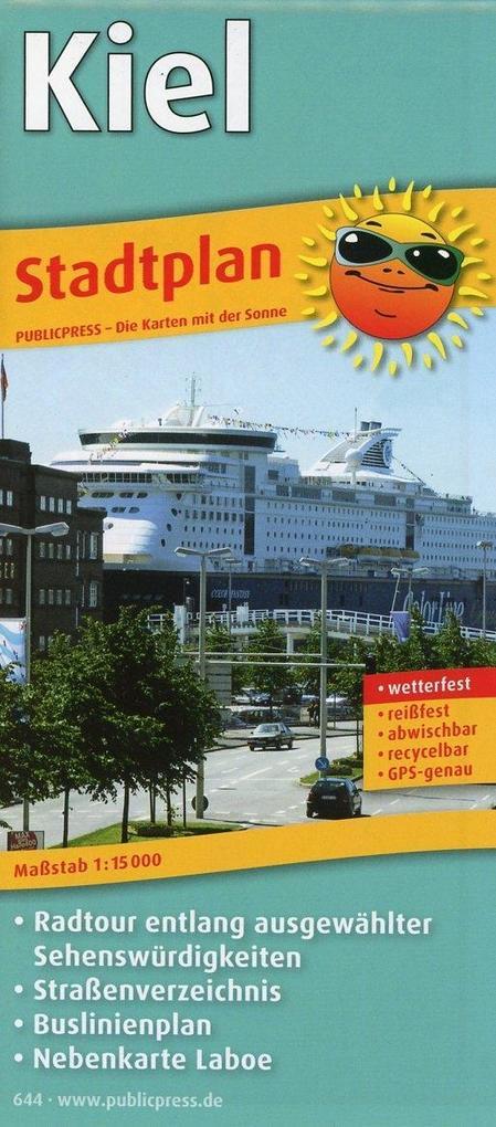 Kiel Stadtplan 1 : 15 000 als Buch von