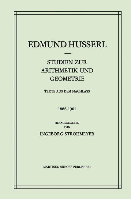 Studien zur Arithmetik und Geometrie als Buch
