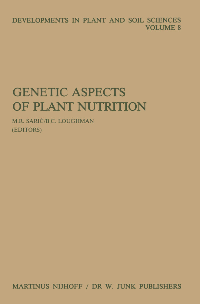 Genetic Aspects of Plant Nutrition: Proceedings of the First International Symposium on Genetic Aspects of Plant Nutrition, Organized by the Serbian A als Buch