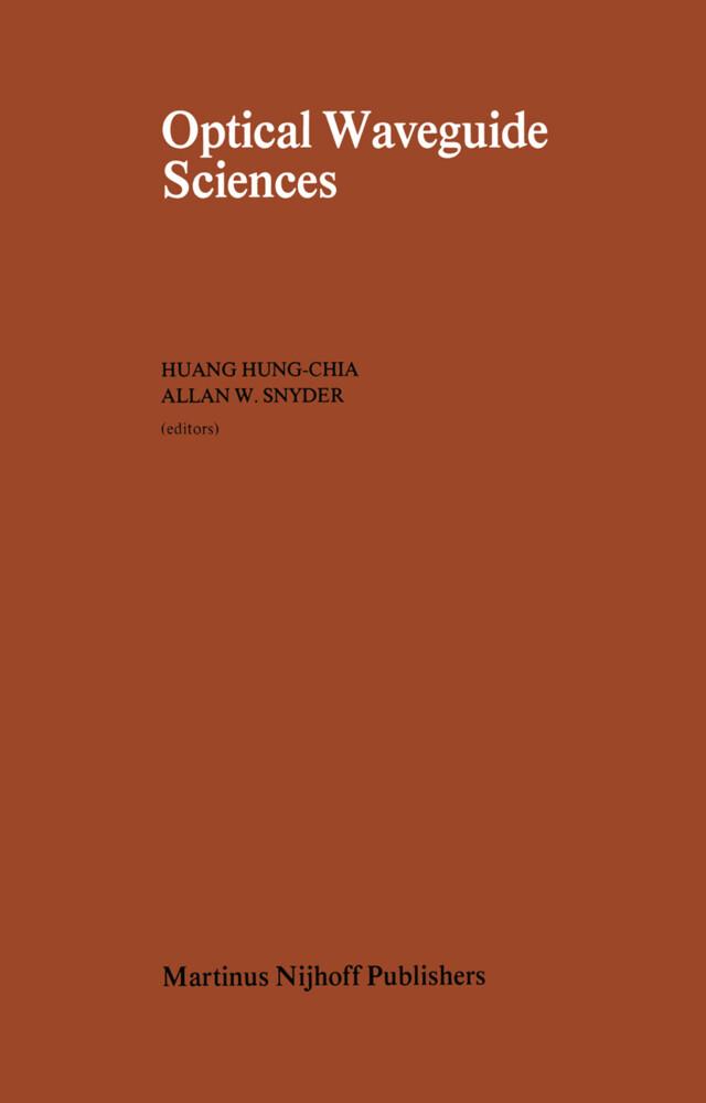 Optical Waveguide Sciences als Buch