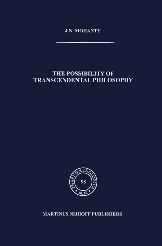 The Possibility of Transcendental Philosophy als Buch