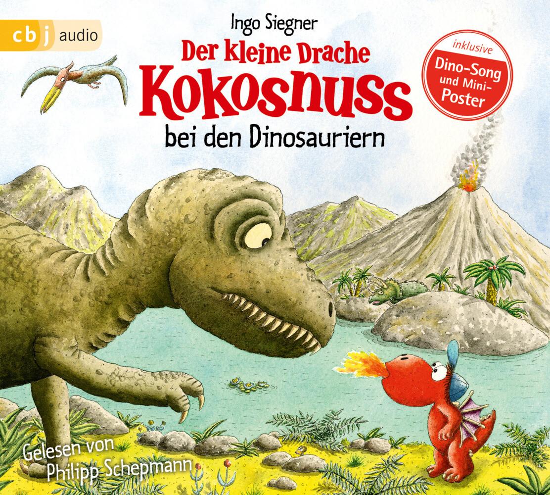 Der kleine Drache Kokosnuss 20 bei den Dinosauriern als Hörbuch
