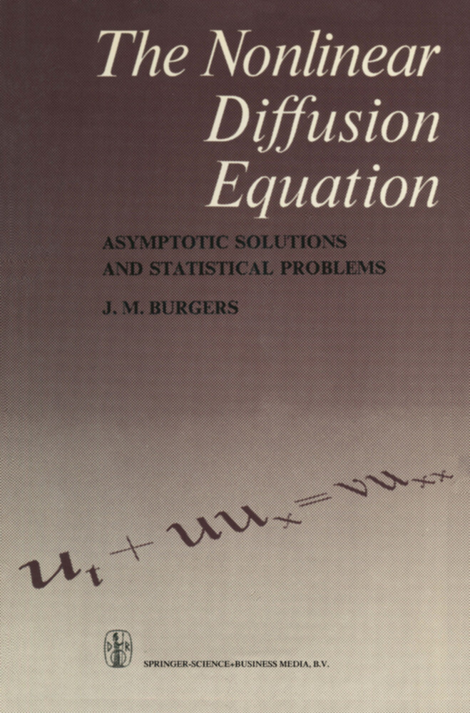 The Nonlinear Diffusion Equation als Buch
