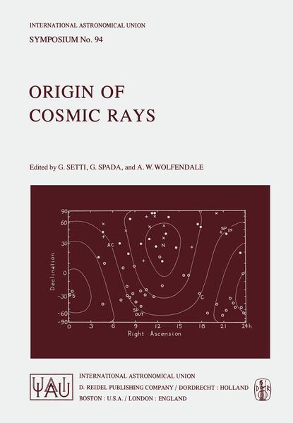 Origin of Cosmic Rays als Buch