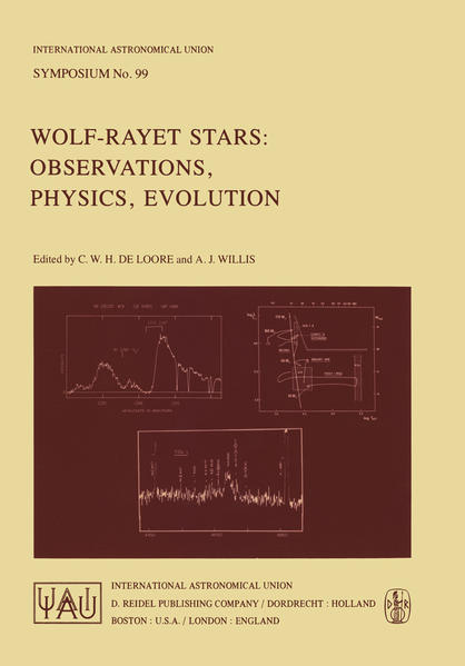 Wolf-Rayet Stars: Observations, Physics, Evolution als Buch