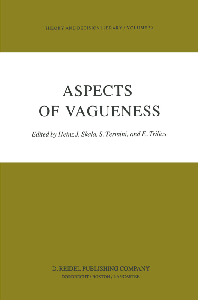 Aspects of Vagueness als Buch