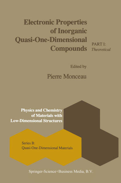 Electronic Properties of Inorganic Quasi-One-Dimensional Compounds als Buch