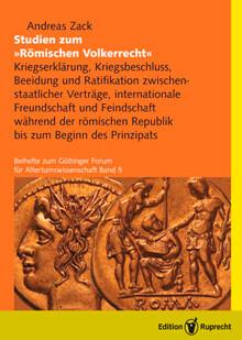 Studien zum Römischen Völkerrecht als eBook pdf