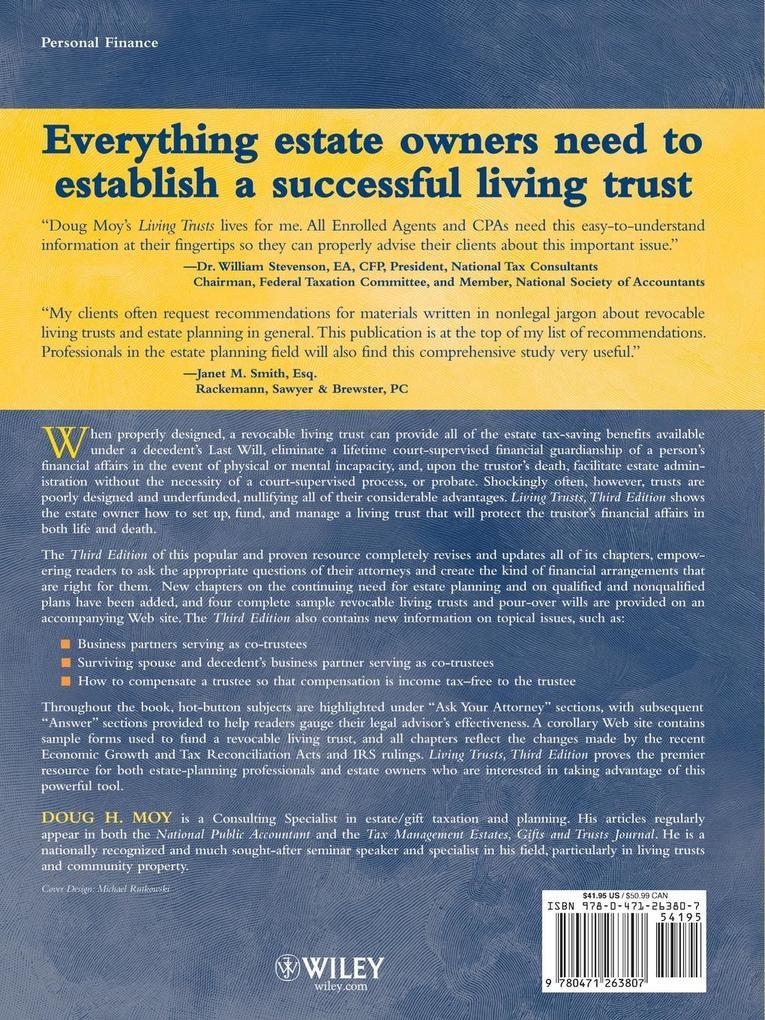 Living Trusts als Taschenbuch