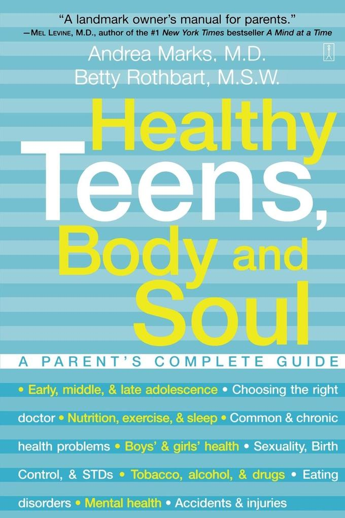 Healthy Teens, Body and Soul als Taschenbuch