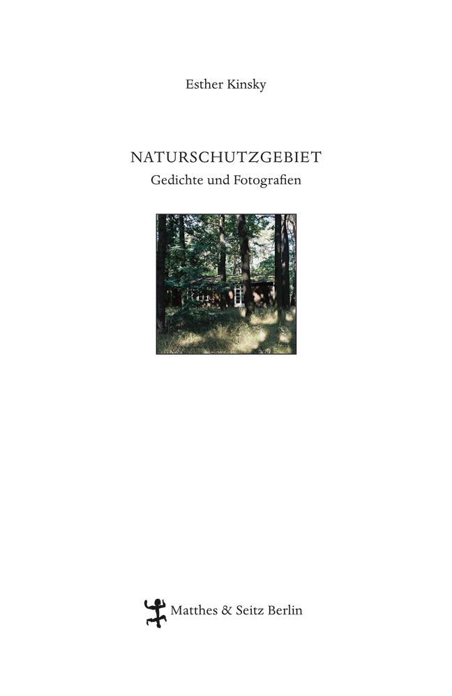 Naturschutzgebiet als Buch von Esther Kinsky
