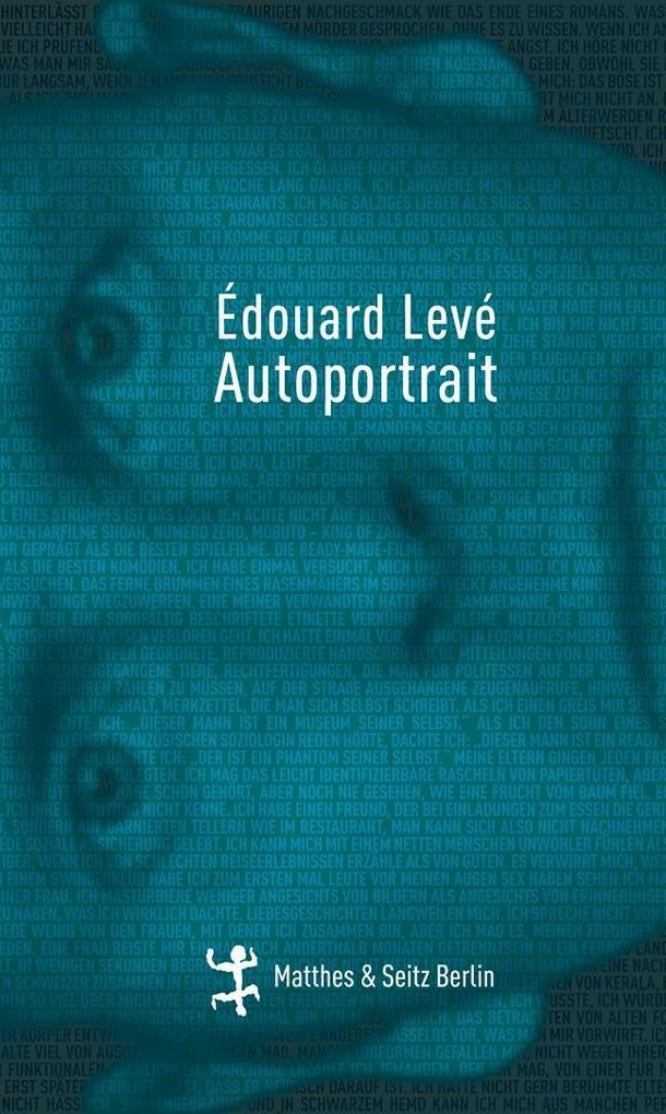 Autoportrait als Buch von Édouard Levé