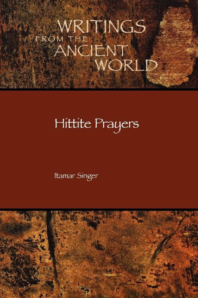 Hittite Prayers als Buch