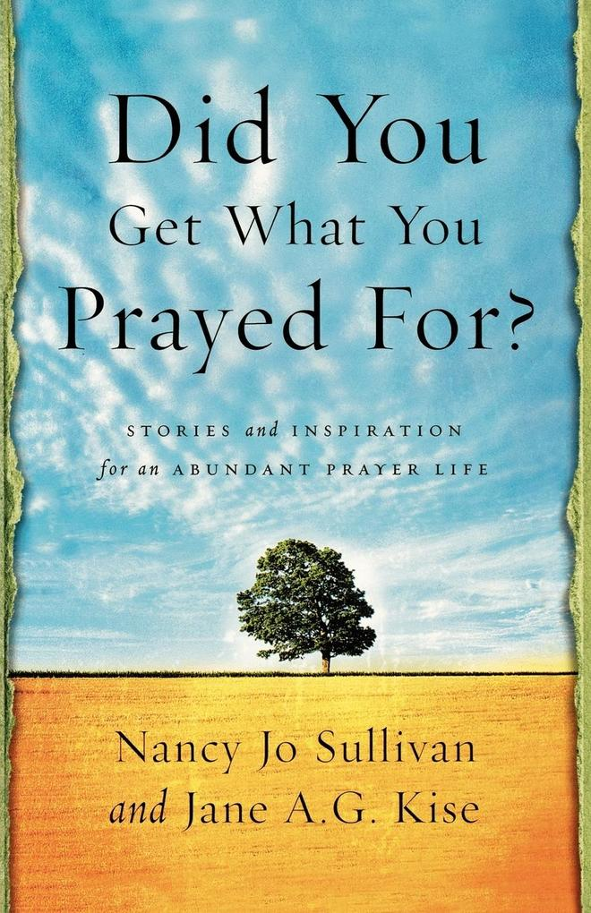 Did You Get What You Prayed For? als Taschenbuch